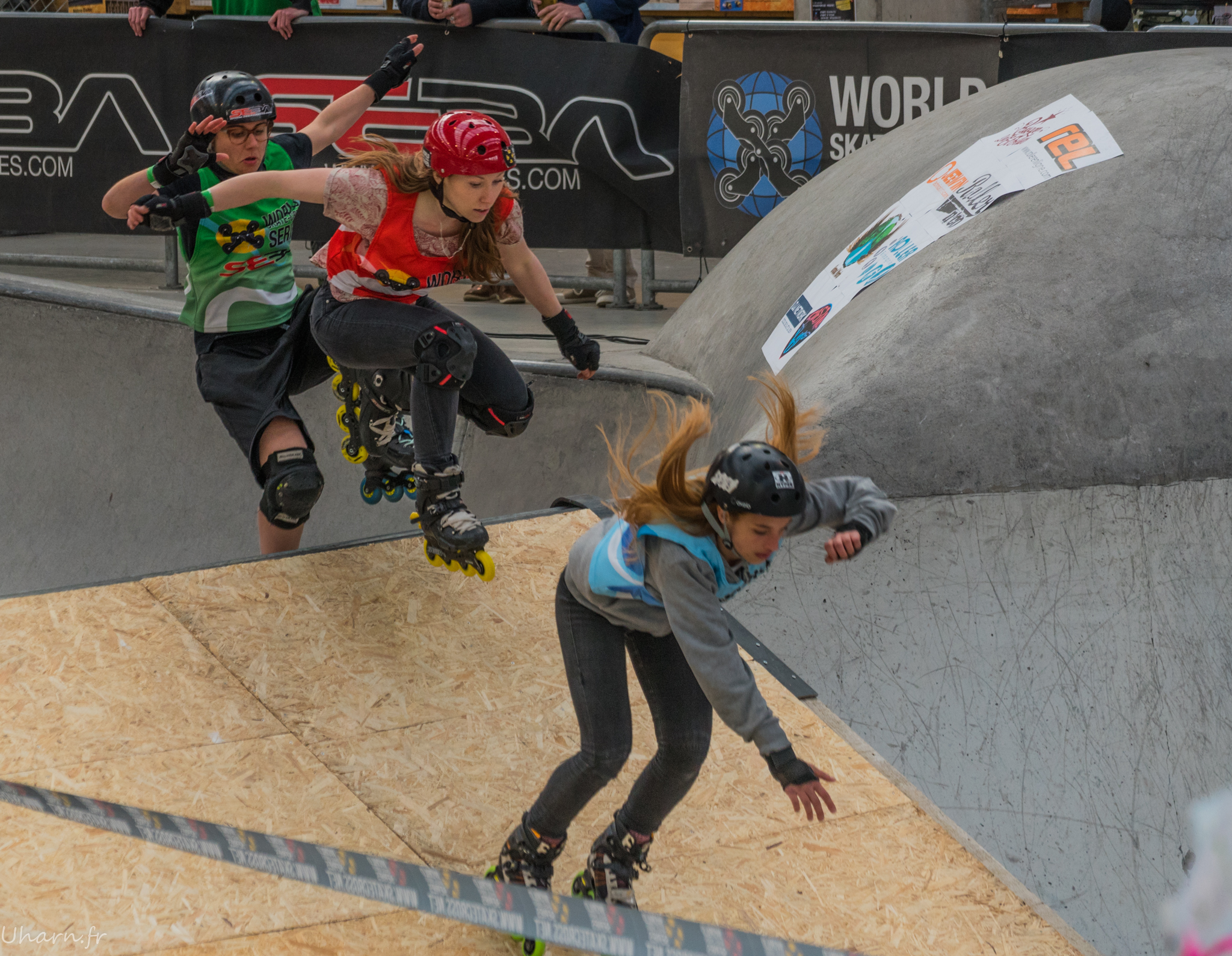 Paris Skate Cross roller inline femmes 2016