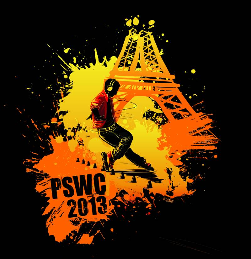 Affiche PSWC Roller 2013