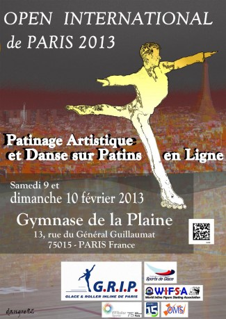 Affiche Open International de Paris 2013